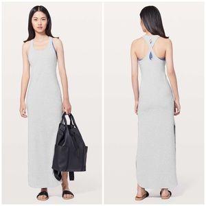 Lululemon Restore Revitalize Dress Heathered Grey